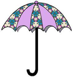April umbrella clipart vector stock umbrella clipart   Umbrellas   Pinterest   Clipart images, Set of ... vector stock
