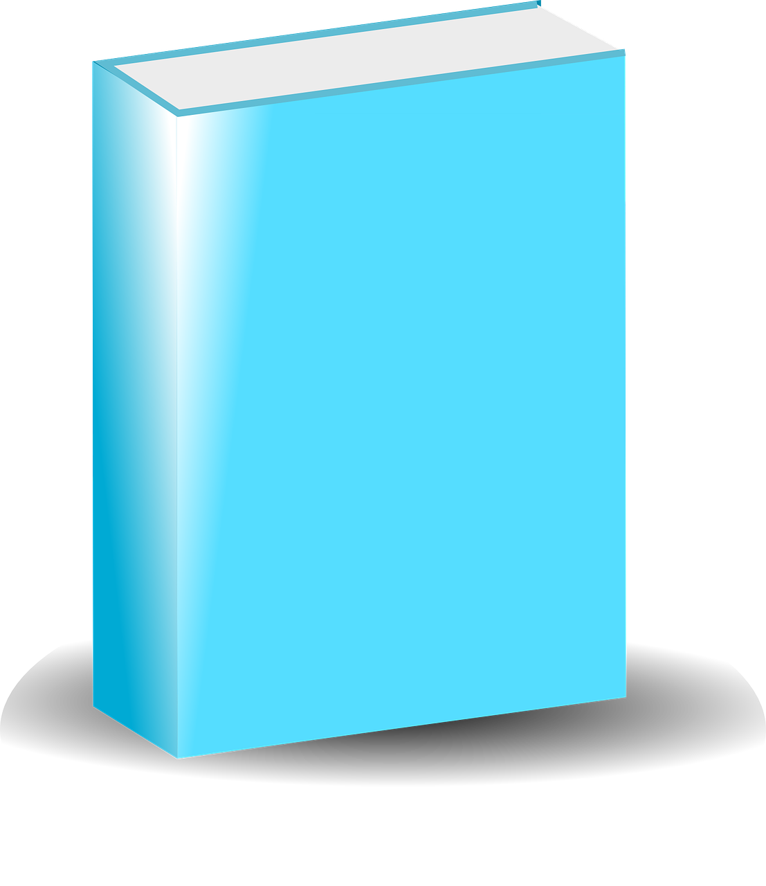 Aqua blank book clipart banner transparent Book Book Cover Cover Blank PNG Image - Picpng banner transparent