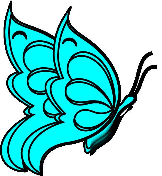 Aqua blank book clipart clip download Blank Butterfly Clip Art at Clker.com - vector clip art online ... clip download