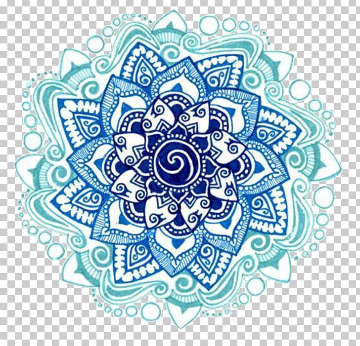Aqua blue brown mandala clipart banner free stock Mandala Drawing Rangoli PNG, Clipart, Art, Blue, Circle, Color ... banner free stock