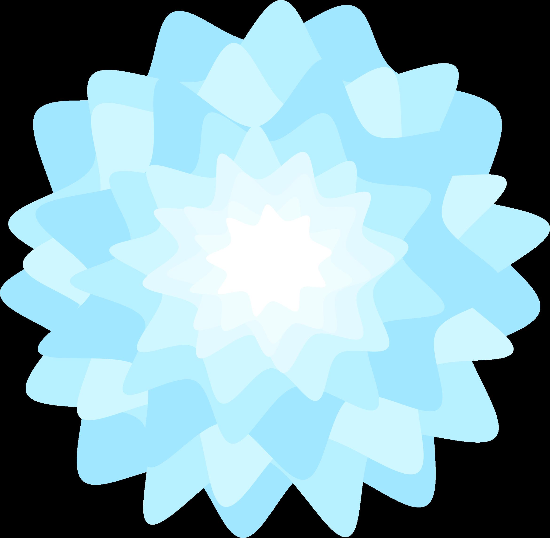 Aqua flower clipart clipart Clipart - Blue Flower clipart