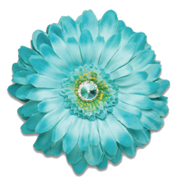 Aqua flower clipart clip library download Edited By C Freedom Aqua Flower | Free Images at Clker.com - vector ... clip library download