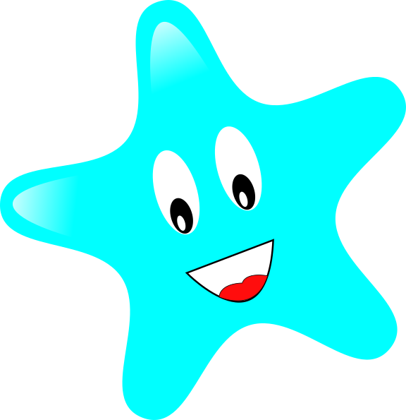 Smiley star clipart picture library library Smiley Star Clip Art at Clker.com - vector clip art online, royalty ... picture library library