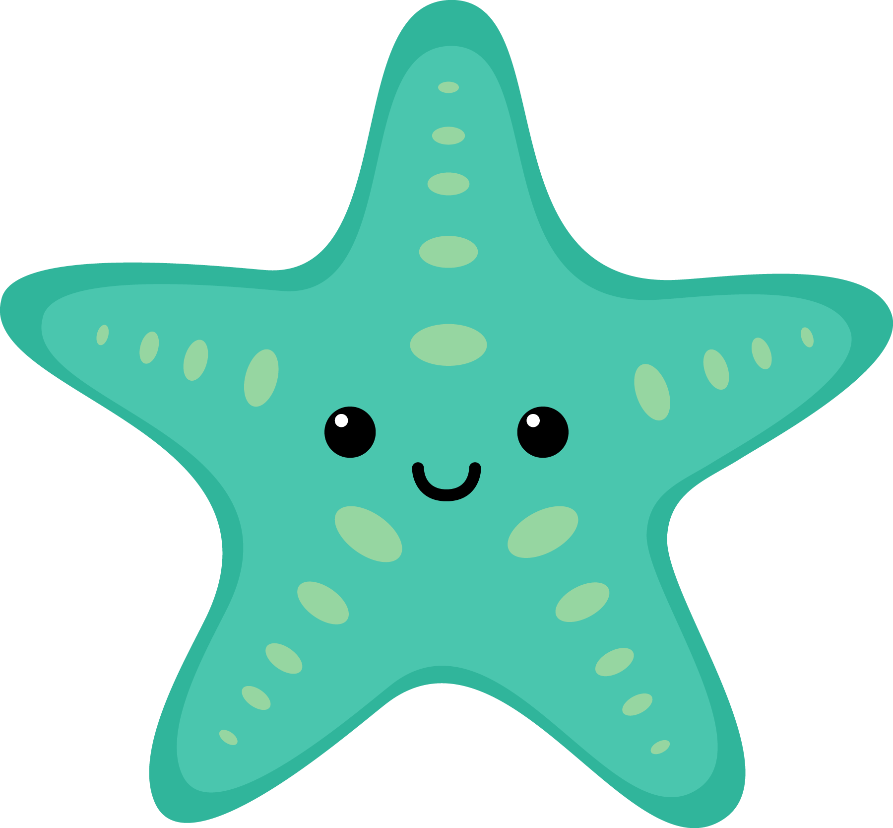 Sea star clipart turquoise svg freeuse library Sea Star Clipart at GetDrawings.com | Free for personal use Sea Star ... svg freeuse library