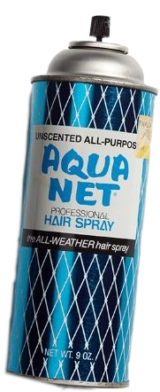 Aqua net clipart image library stock aquanet hairspray 80s - Sticker by Hyper image library stock