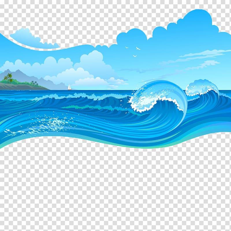 Ocean storm clipart download Sea waves graphics art, Cartoon Wave, Sea storms transparent ... download