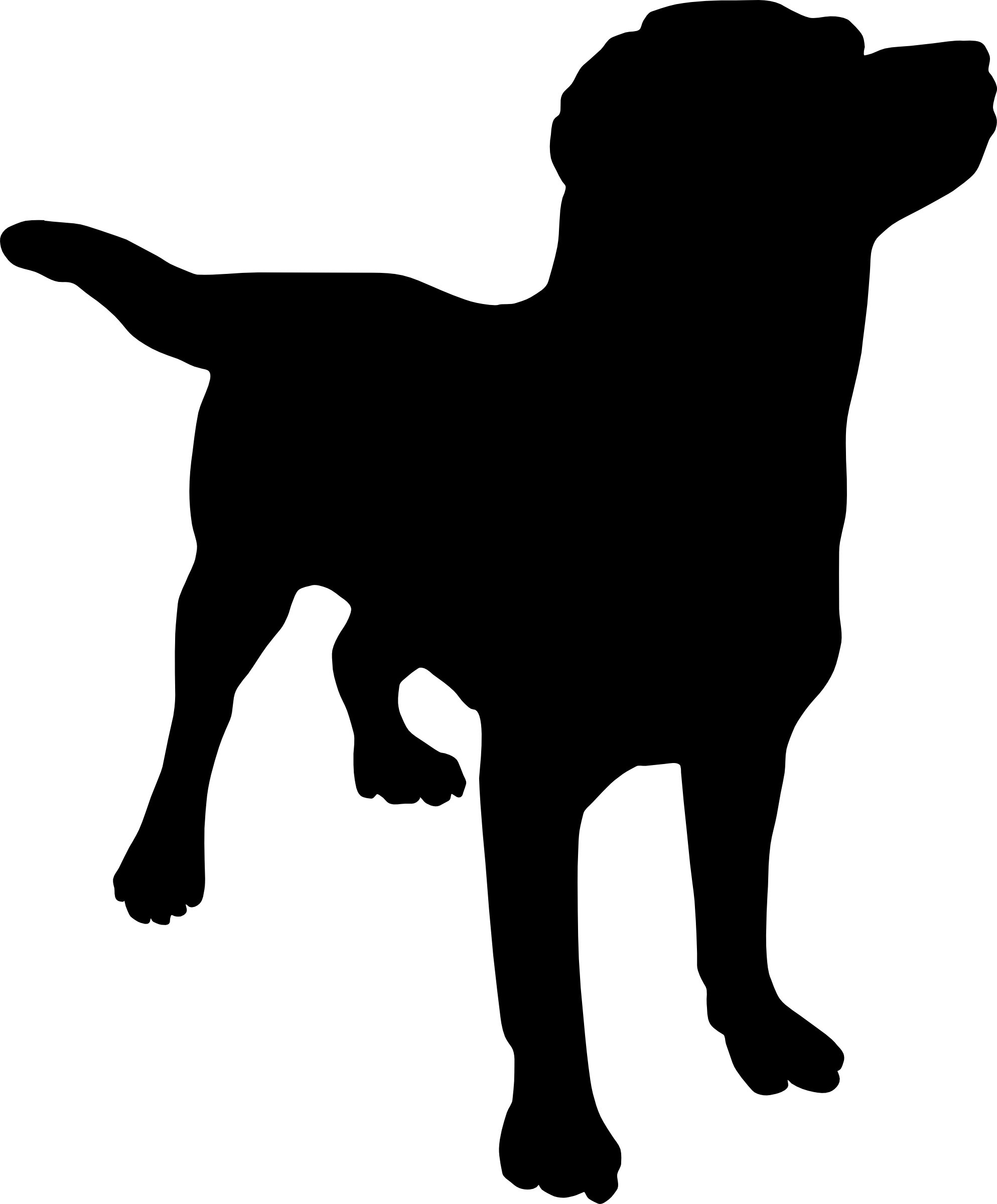 Dog cat clipart black and white graphic transparent stock Dog Cat Silhouette at GetDrawings.com | Free for personal use Dog ... graphic transparent stock