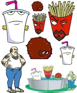Aqua teen hunger force cliparts picture royalty free download Details about Aqua Teen Hunger Force Iron On T Shirt / Pillowcase Fabric  Transfer #1 picture royalty free download