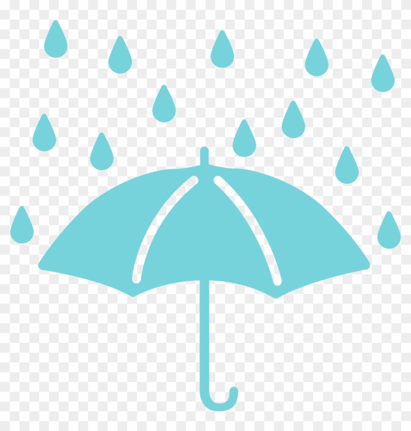 Aqua umbrella clipart images clip free stock Clipart Rain Rainy Day - Transparent Png Umbrella Rain, Png Download ... clip free stock