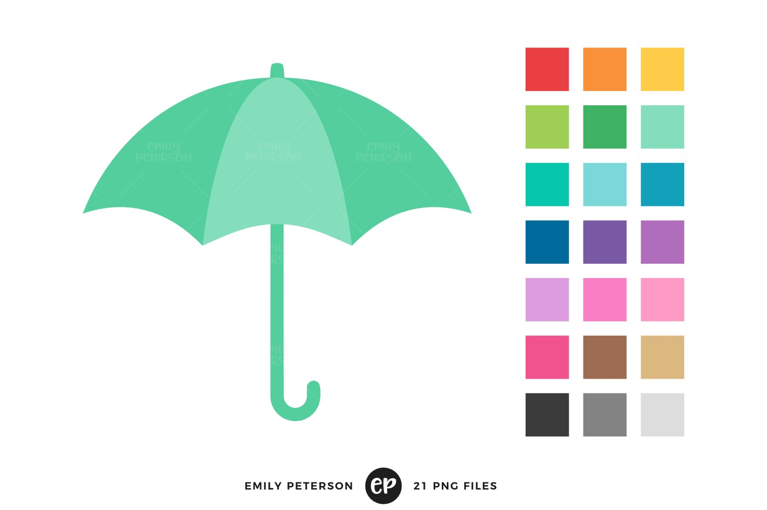 Aqua umbrella clipart images image transparent download Umbrella Clipart image transparent download