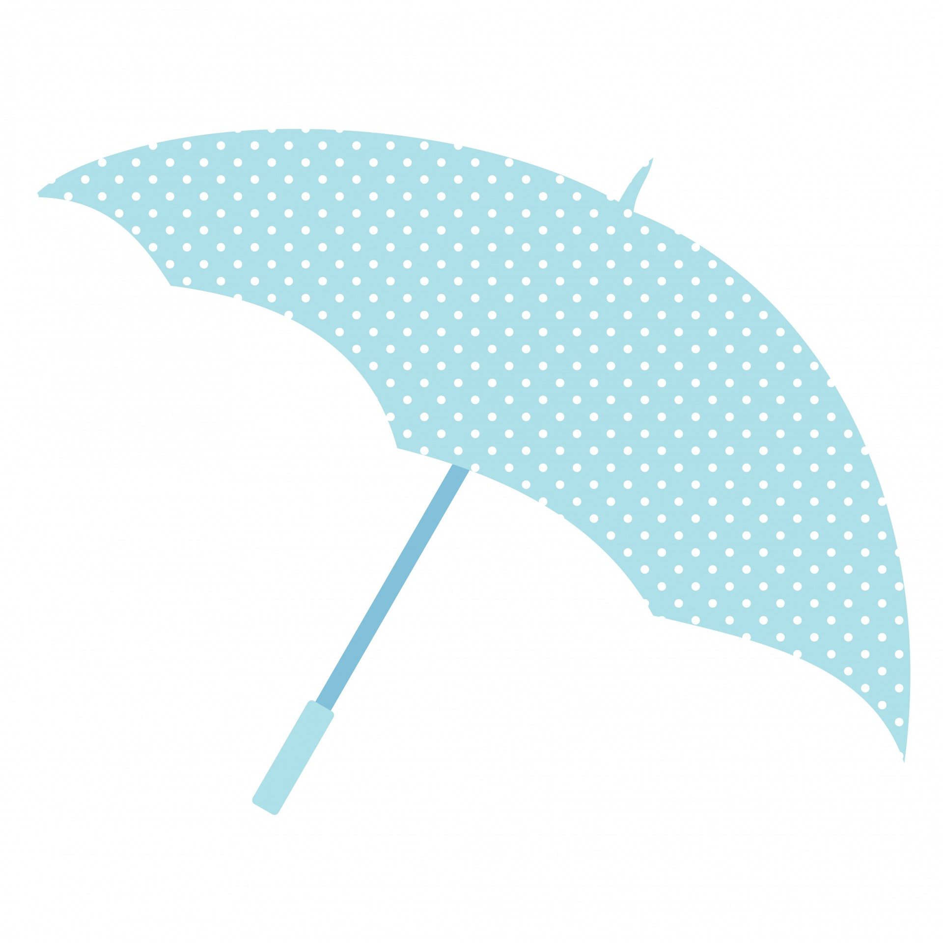 Aqua umbrella clipart images picture free download Umbrella,brolly,blue,white,polka dots - free photo from needpix.com picture free download