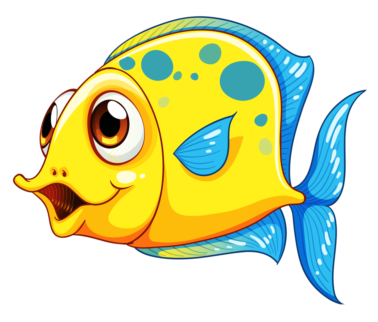 Fish clipart png vector free library 10.png | Pinterest | Fish, Clip art and Cartoon vector free library