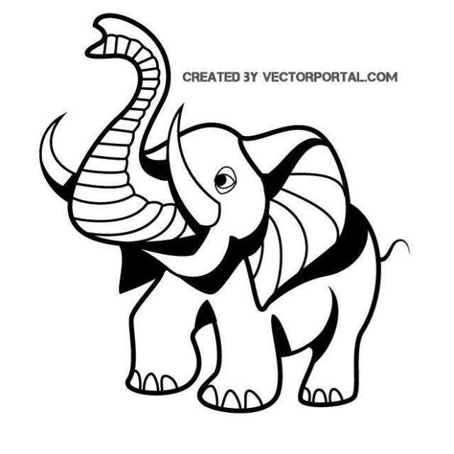 Aquarius elephant clipart clip transparent download Vector Elephants Family on Nature Walk | Roar decorations | Cartoon ... clip transparent download