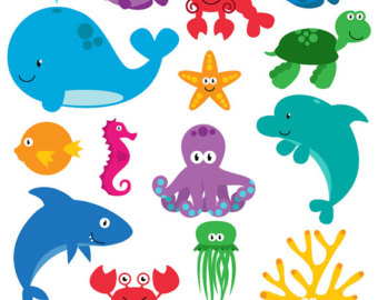 Aquatic animals clipart picture library Free Marine Animals Cliparts, Download Free Clip Art, Free Clip Art ... picture library