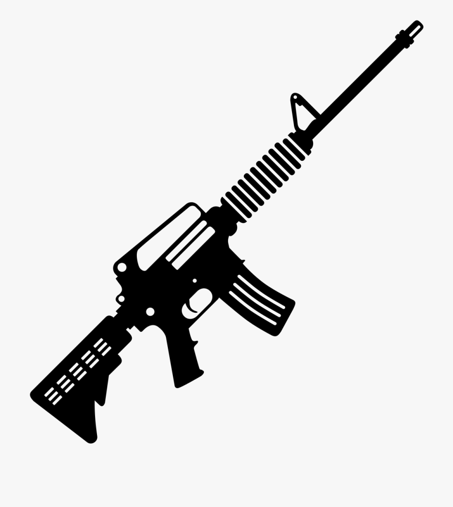 Ar 15 png clipart image Guns Clipart Ar15 - S&w M&p 15 #127974 - Free Cliparts on ClipartWiki image