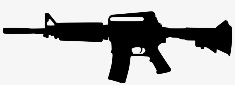Assault rifle clipart transparent