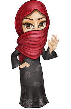 Arab culture clothes clipart library 76 Best Arab Men and Women Vector Cartoon Characters images in 2018 ... library