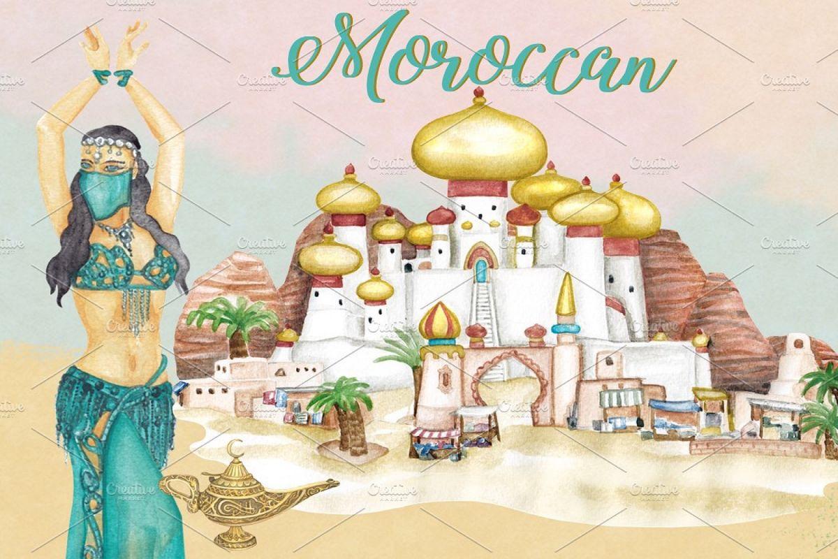 Arabian elephant clipart graphic free stock MoroccanArabian Clipart Images graphic free stock