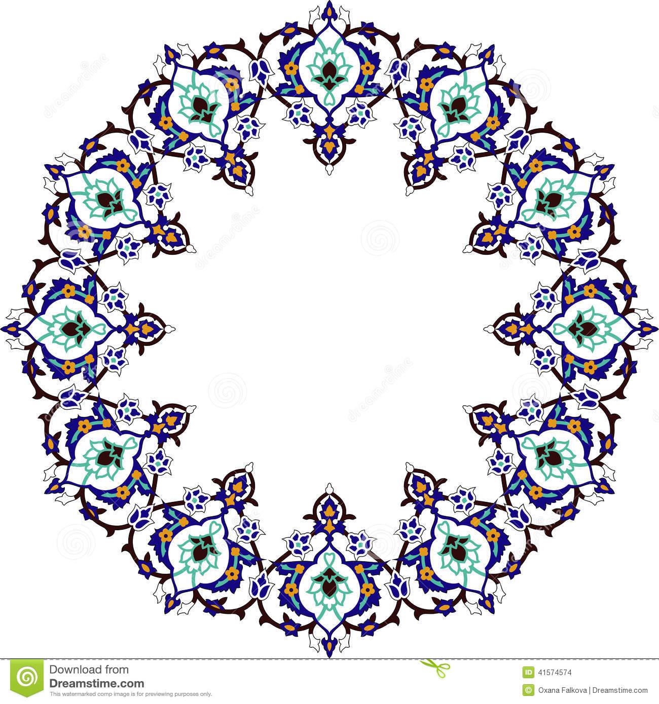 Arabic clipart clip art free Arabic Frame Stock Vector - Image: 41574574 clip art free