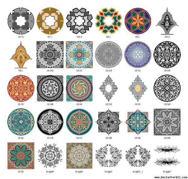 Arabic clipart. Cliparts arbian arabesque