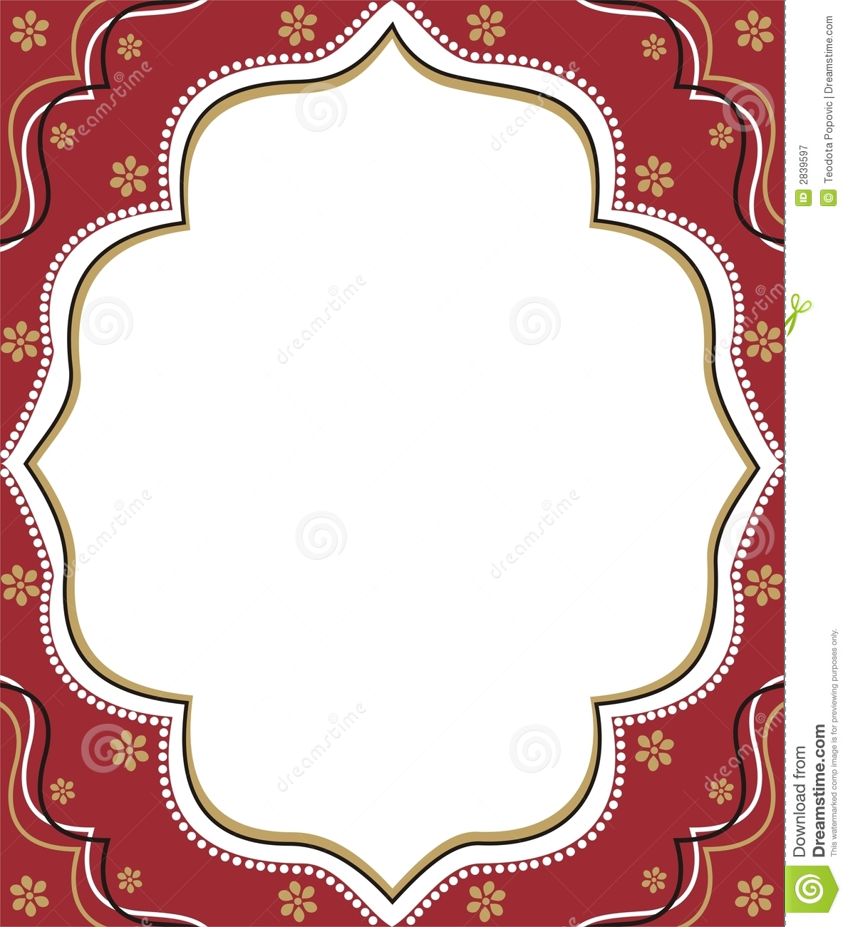 Arabic clipart borders library Red Frame Clipart - Clipart Kid library