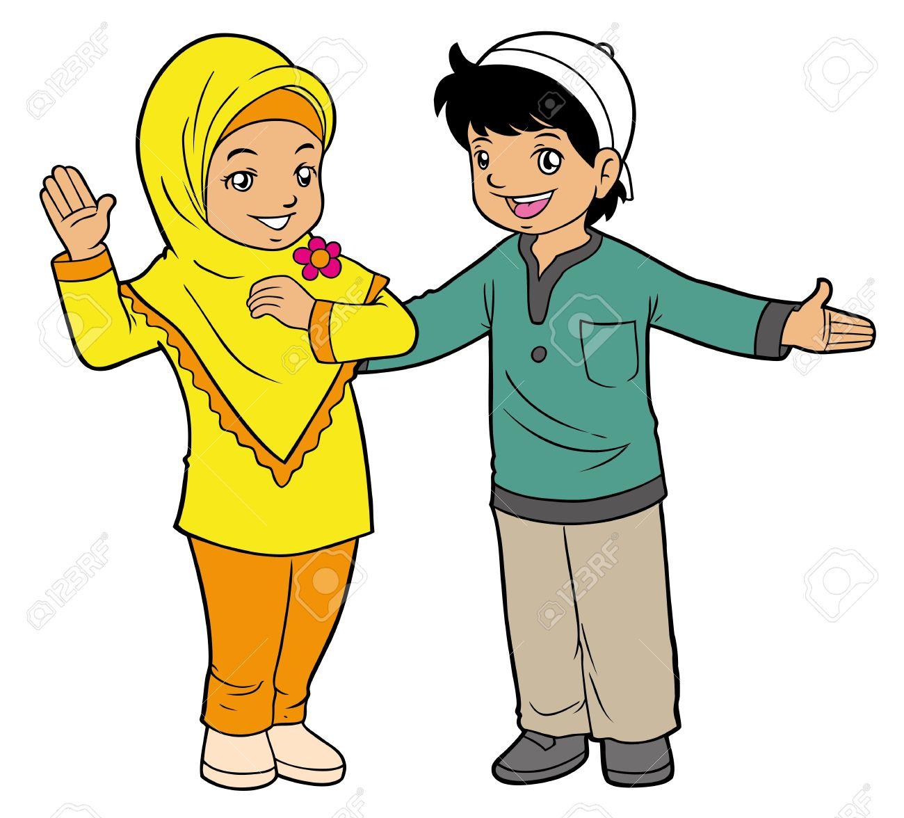 Arabic clipart kids download Muslim children clipart - ClipartFest download