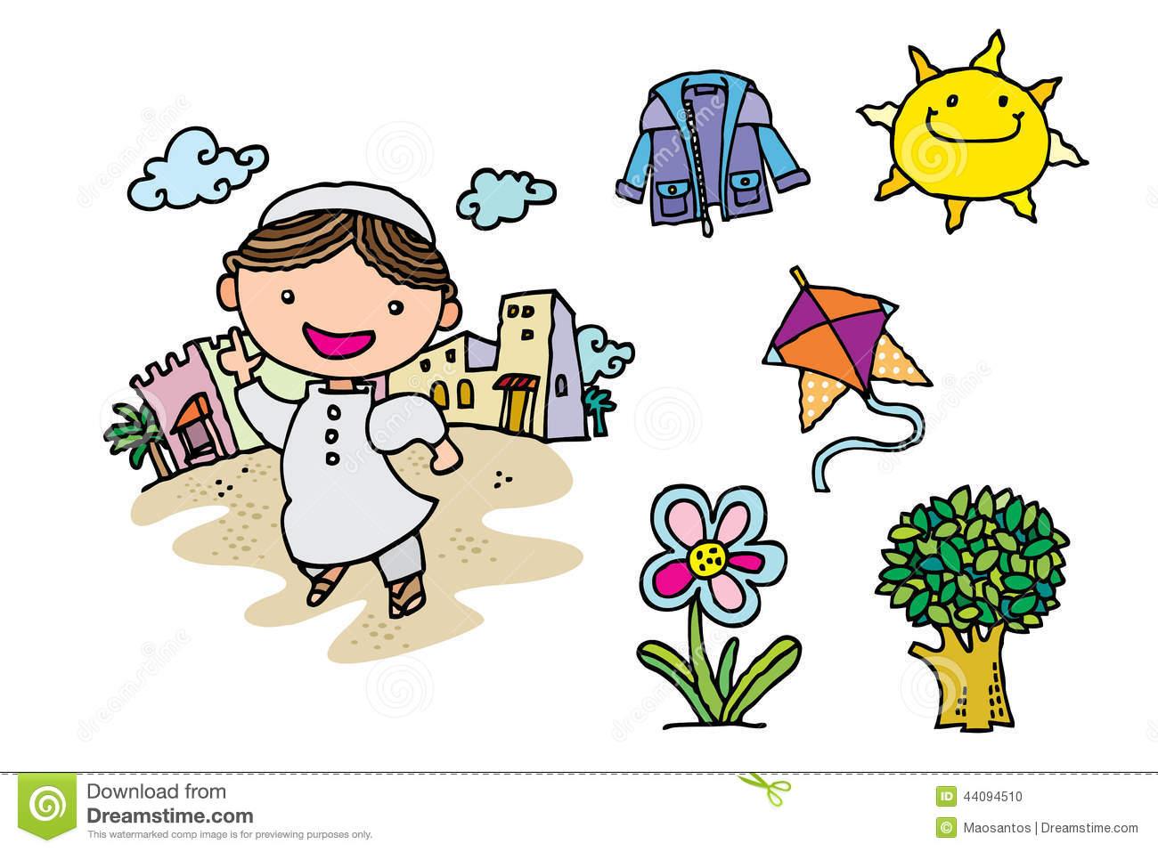 Arabic clipart kids. Clipartfest arab kid