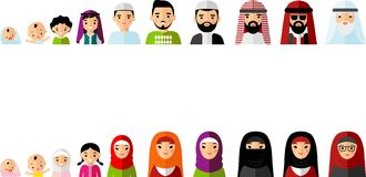Arabic family photo clipart picture freeuse stock Vector Arab Family Stock Vector - Image: 63345974 picture freeuse stock