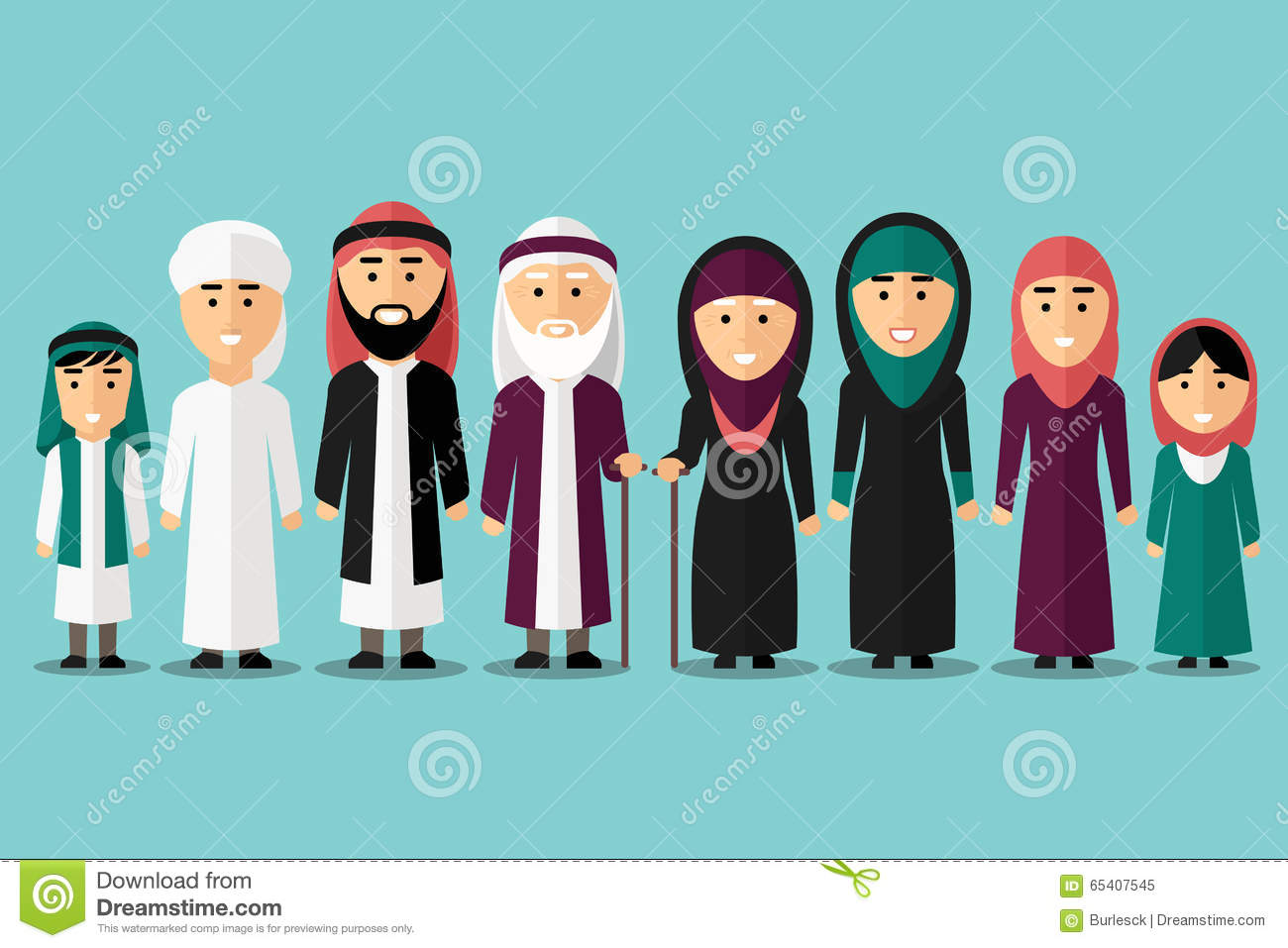 Arabic family photo clipart transparent library Arab Family Stock Photos, Images, & Pictures - 2,854 Images transparent library