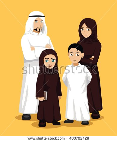 Arabic family photo clipart clipart transparent library Arab family clipart - ClipartFest clipart transparent library