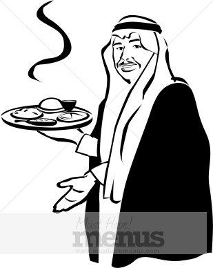 Arabic food clipart. Clipartfest middle east