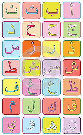 Arabic letters clipart clip art transparent stock Clipart arabic letters - ClipartFest clip art transparent stock