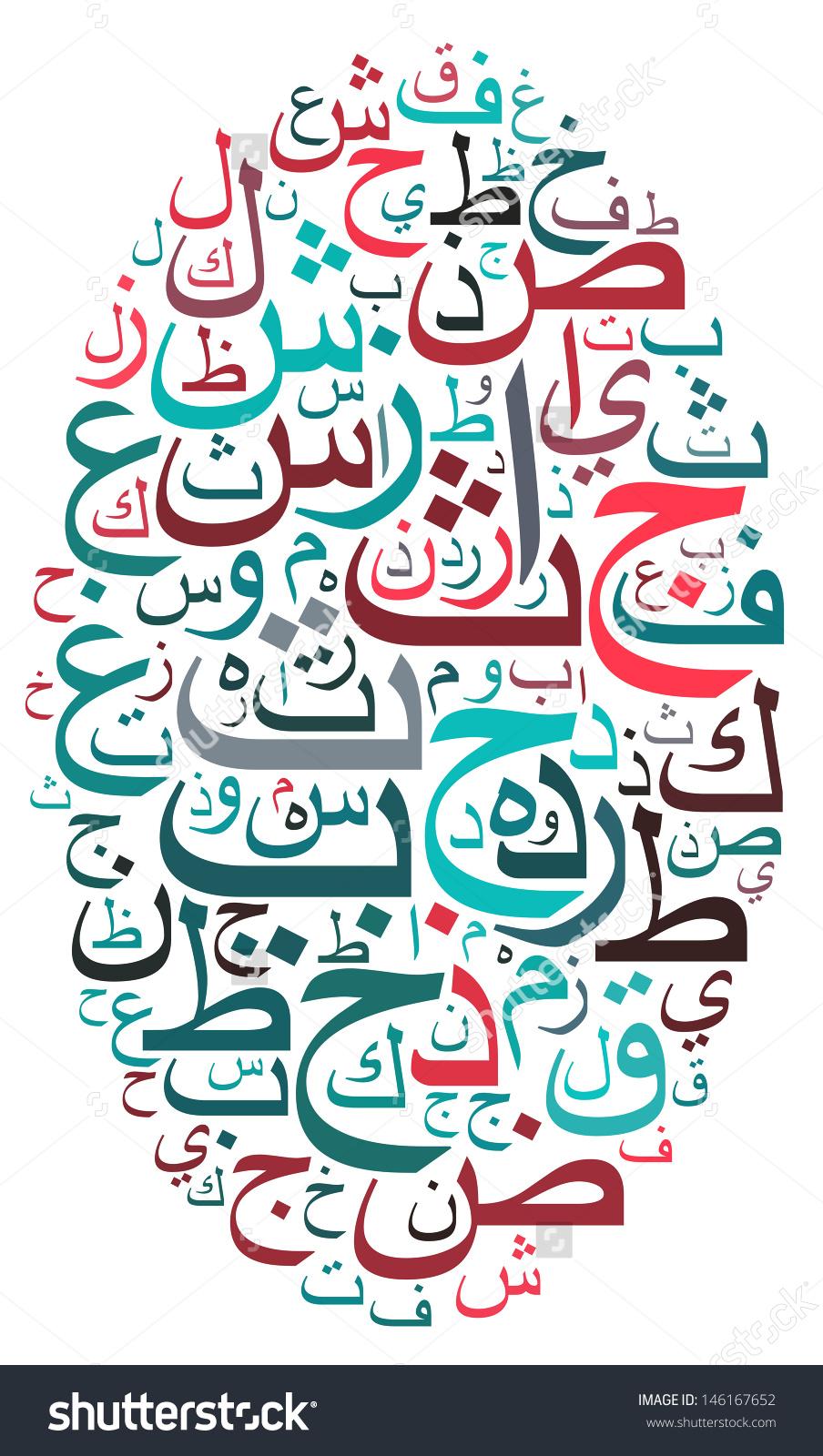 Arabic letters clipart jpg stock Clipart arabic letters - ClipartFest jpg stock