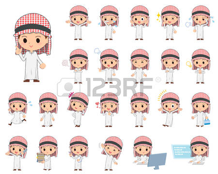 Arabic man clipart clipart black and white stock 4,345 Arab Man Stock Vector Illustration And Royalty Free Arab Man ... clipart black and white stock