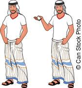 Arabic man clipart clip library Vector Clip Art of Arabic man with a sword csp14772312 - Search ... clip library