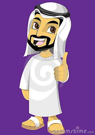 Arabic man clipart. Clipartfest arabian guy with