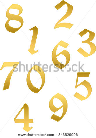 Arabic numbers clipart clip art free stock Arabic Numbers Stock Images, Royalty-Free Images & Vectors ... clip art free stock