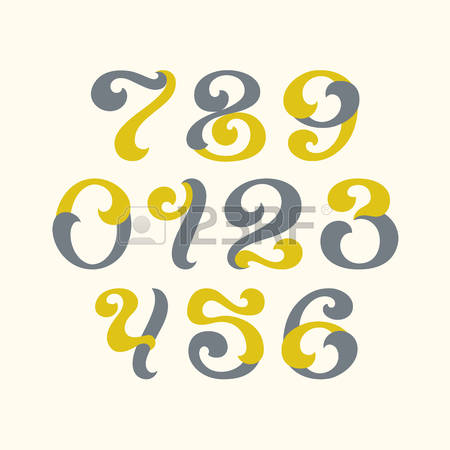Arabic numbers clipart image royalty free library 589 Arabic Numerals Stock Illustrations, Cliparts And Royalty Free ... image royalty free library