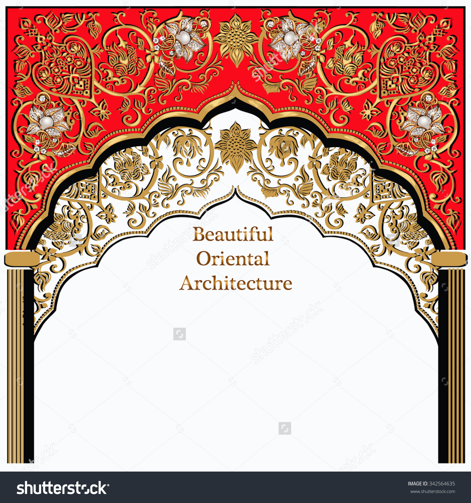 Arabic temple clipart png free stock Indian Architectureindian Temple Architectural Archarchitecture ... png free stock