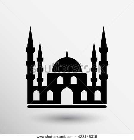 Arabic temple clipart