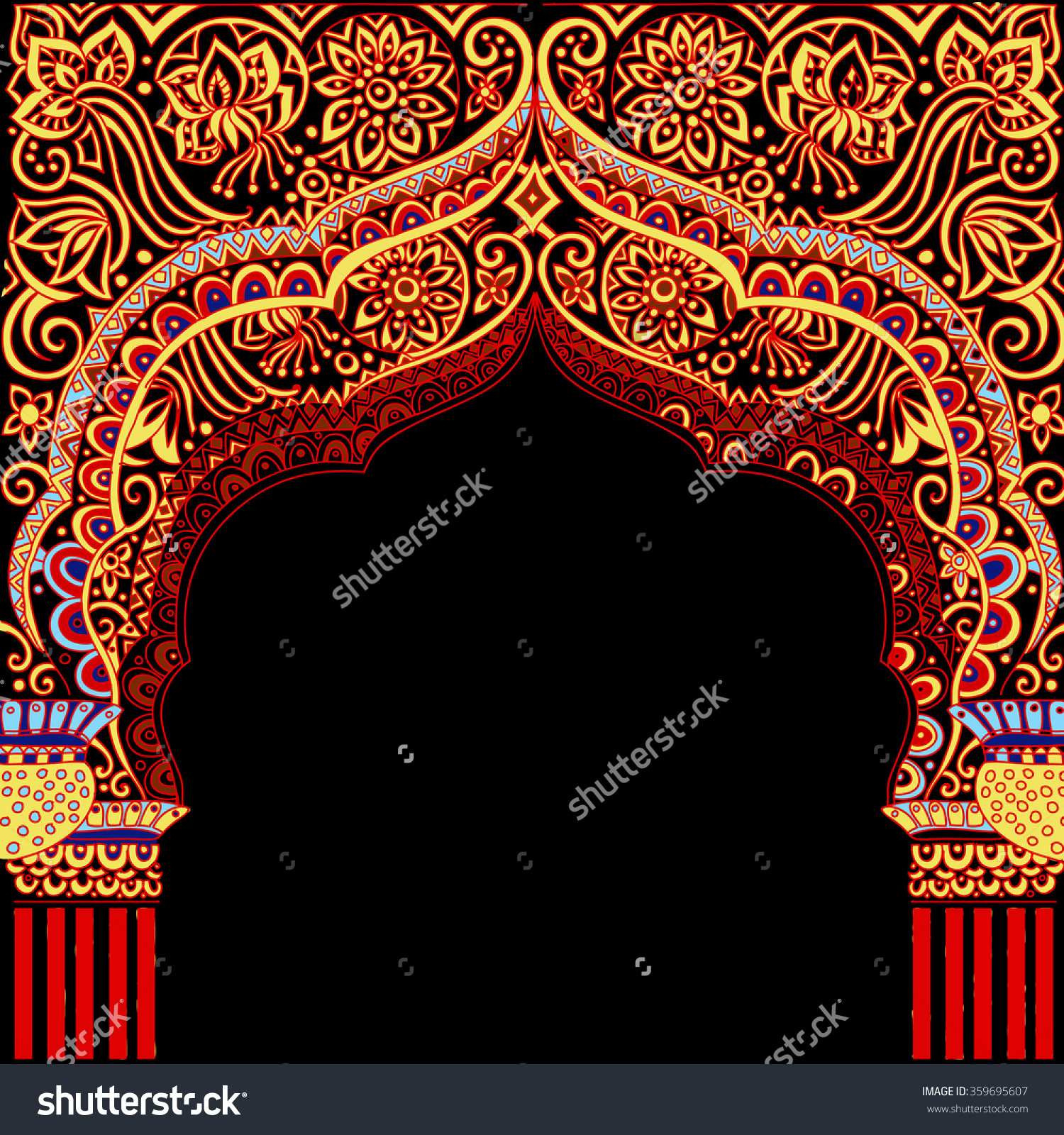 Arabic temple clipart clip art download Indian Architectureindian Temple Architectural Archarchitecture ... clip art download