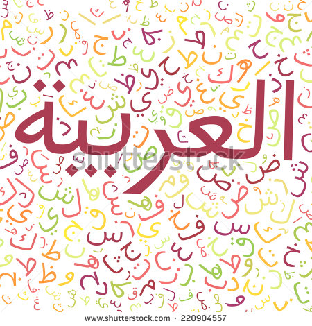 Arabic writing clipart banner free library Arabic Alphabet Texture Background High Resolution Stock ... banner free library