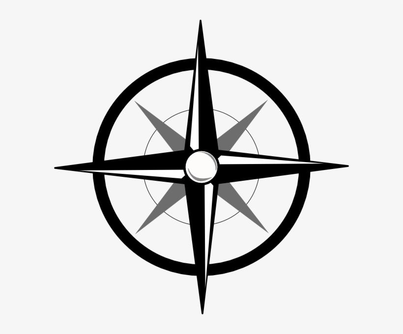 Arah mata angin clipart jpg library library Mata Angin Logo - Black And White Compass Rose Clip Art - Free ... jpg library library