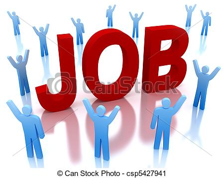 Of job and successful. Arbeit clipart