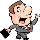 Clip art of businessman. Arbeit clipart