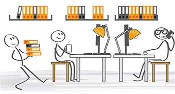 Arbeit wirtschaft technik clipart vector transparent HAIN GmbH - Büroeinrichtung | Ergonomie | DMS | Offenbach vector transparent