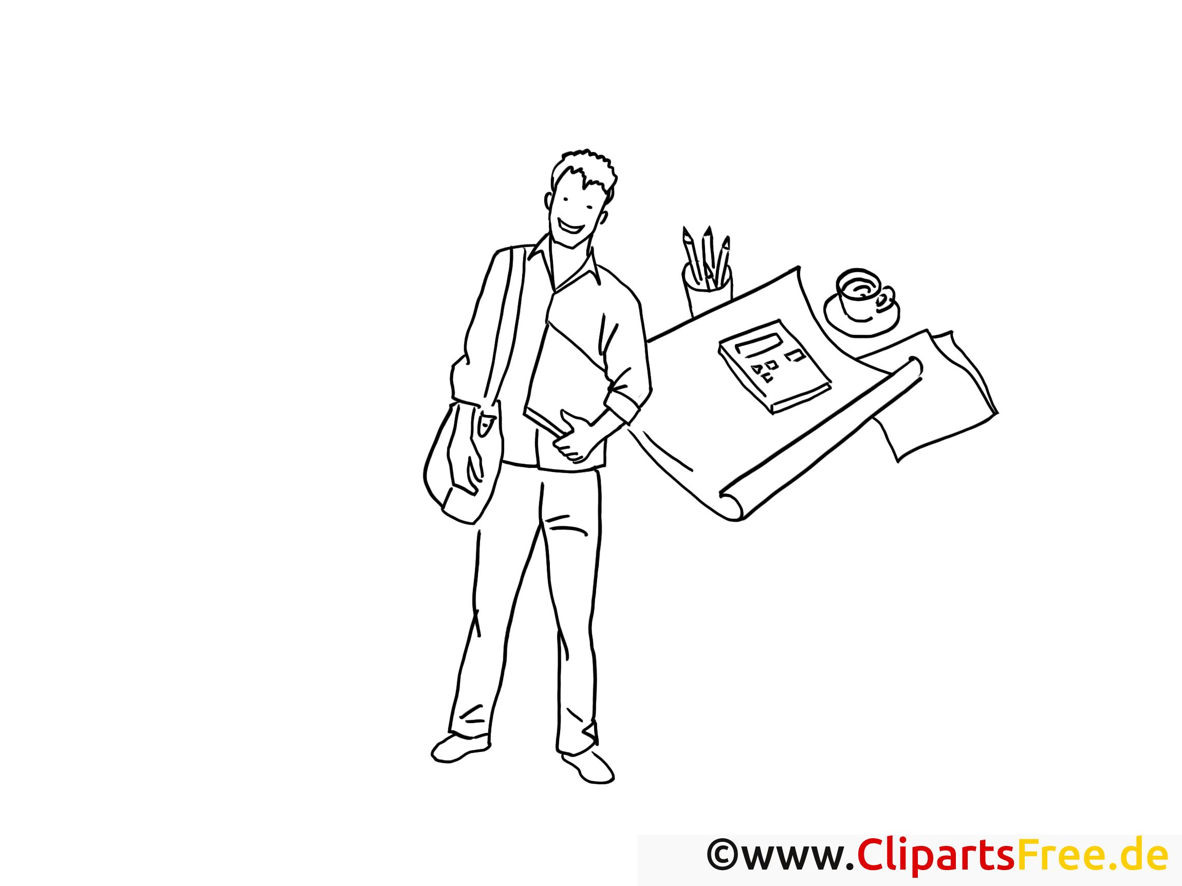 Arbeit wirtschaft technik clipart image library Reporter Schwarz-weiss Clipart-Bilder zum Drucken und Ausmalen image library