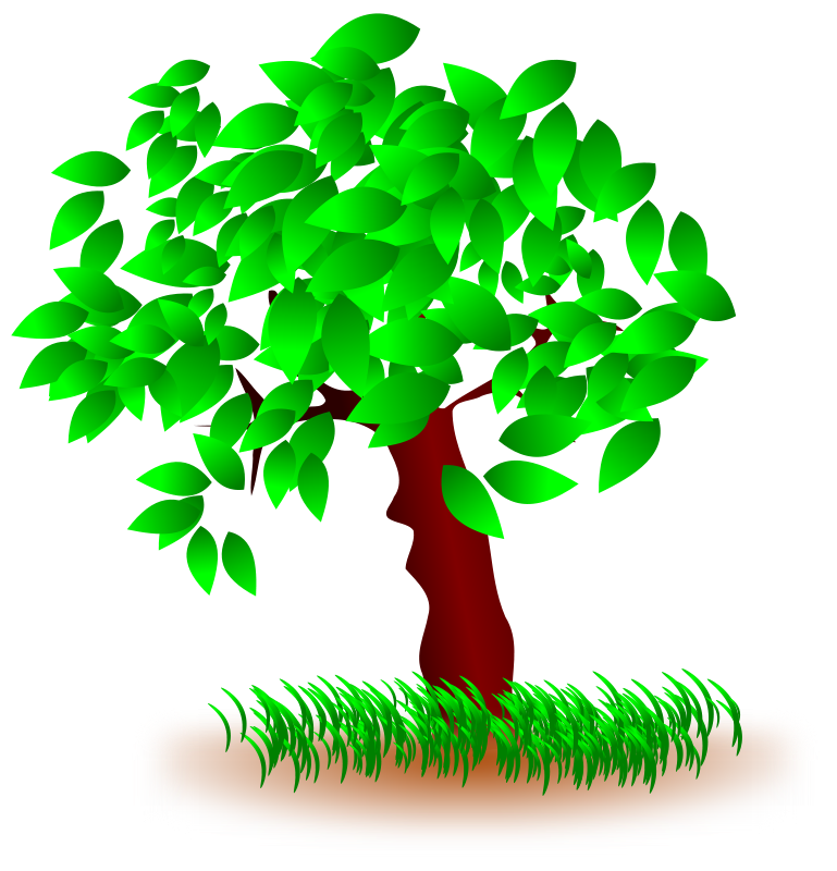 Arbol clipart free clipart black and white library Free Clipart: Tree arbol | jantonalcor clipart black and white library