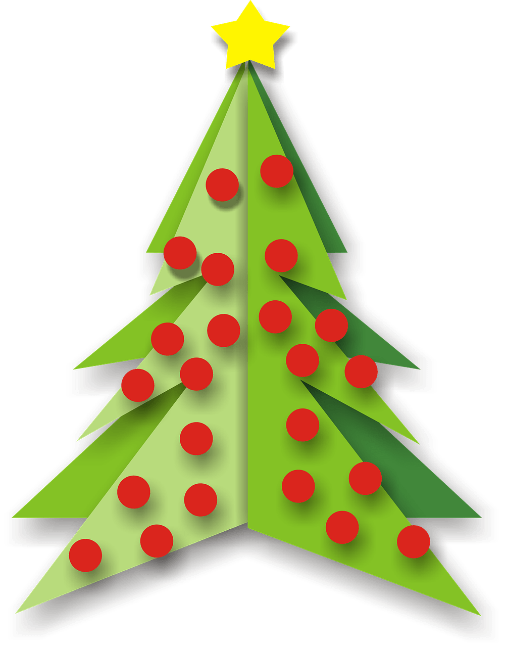 Arboles navide os clipart svg library download Árbol de Navidad con Bolas Rojas Clipart PNG transparente - StickPNG svg library download