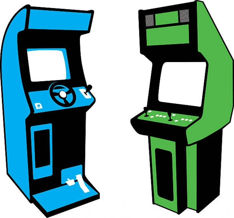 Arcad clipart vector download Video game clipart arcade games pencil and in color video game ... vector download